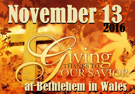 Night Divine is looking forward to praising God with the great congregation of beautiful Bethlehem Lutheran Church in Wales, WI.