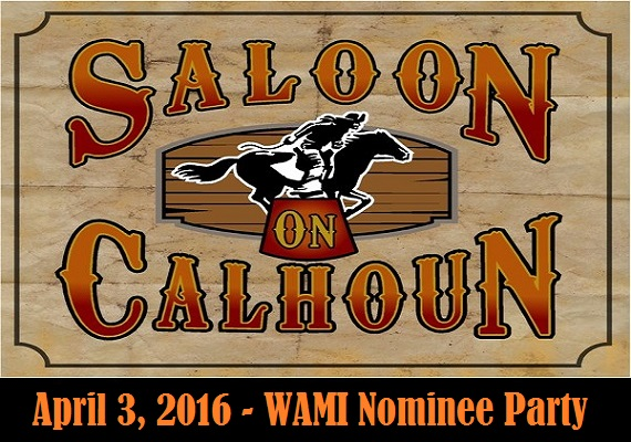 In anticipation of the official awards ceremony on April 17, the Wisconsin Area Music Industry (WAMI) held a nominee pre-party starting at 7:00 pm at The Saloon on Calhoun, 17000 W Capitol Dr, Brookfield, Wisconsin 53005.