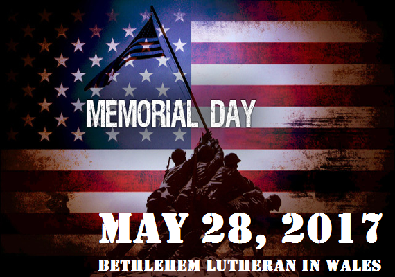 Night Divine is honoring our troops on Memorial Day with the great congregation of beautiful Bethlehem Lutheran Church in Wales, WI. Over the years, we've loved worshipping there, and you can see a lot of past video on <a href='http://www.nightdivine.com/bethlehem' target='_blank'>Night Divine's Worship Team Website</a>.