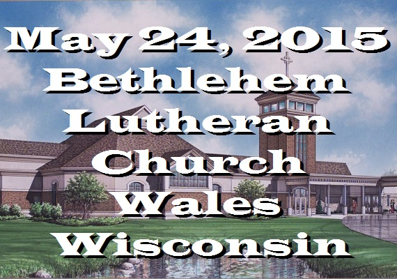 Night Divine was honored to praise God with the wonderful congregation of beautiful Bethlehem Lutheran Church in Wales, WI