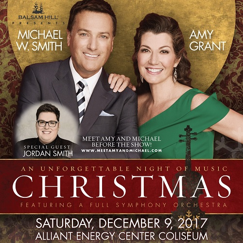 Michael W Smith and Amy Grant